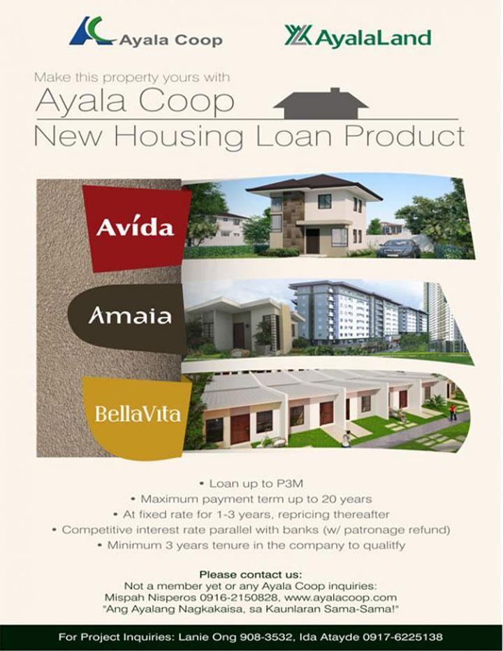 Ayala Coop Housing Loan