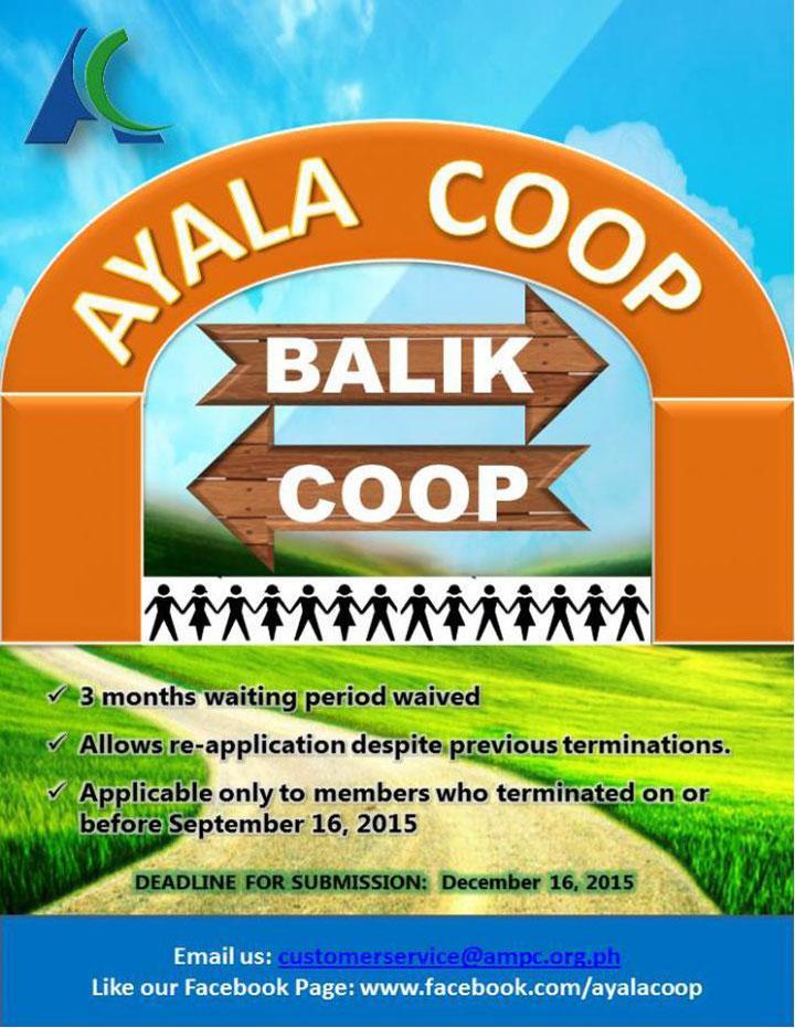 Ayala Coop Balik Coop 2015