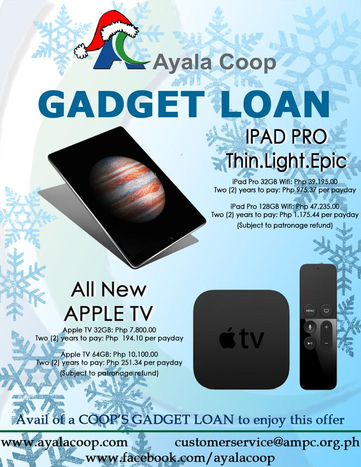 Ayala Coop Ipad Pro and Apple Tv